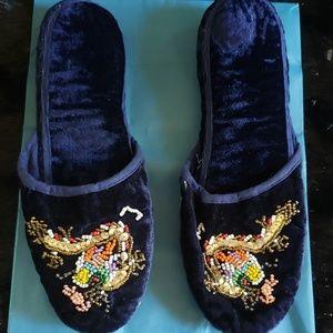 Chinese Velvet Slippers